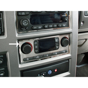 American Car Craft | Dash Trim | 03_07 Hummer H2 | ACC2989