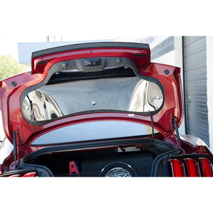 Polished Stainless Steel Trunk Lid Panel for 2015-2016 Ford Mustang Coupe