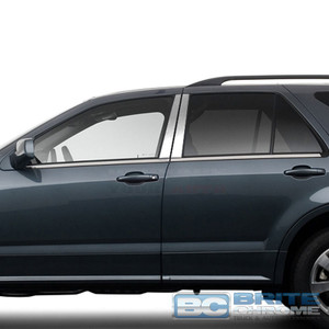 Brite Chrome | Pillar Post Covers and Trim | 04-09 Cadillac SRX | BCIP208