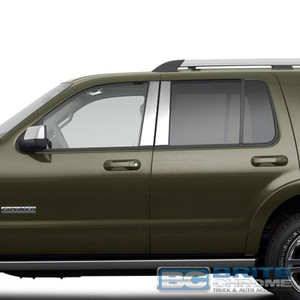 Brite Chrome | Pillar Post Covers and Trim | 02-10 Ford Explorer | BCIP234