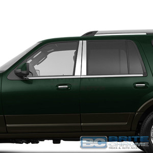 Brite Chrome | Pillar Post Covers and Trim | 97-17 Ford Expedition | BCIP238