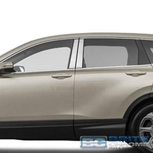 Brite Chrome | Pillar Post Covers and Trim | 17 Honda CR-V | BCIP246