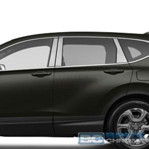 Brite Chrome | Pillar Post Covers and Trim | 17 Honda CR-V | BCIP247