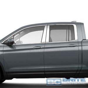 Brite Chrome | Pillar Post Covers and Trim | 17 Honda Ridgeline | BCIP250
