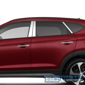 Brite Chrome | Pillar Post Covers and Trim | 16-17 Hyundai Tucson | BCIP263