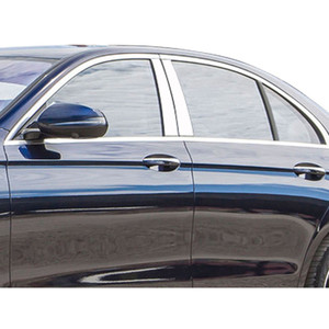 Luxury FX | Pillar Post Covers and Trim | 17 Mercedes E Class | LUXFX3270