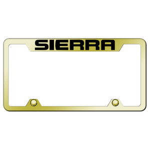 Au-TOMOTIVE GOLD | License Plate Covers and Frames | GMC Sierra 1500 | AUGD5540