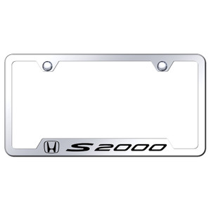 Au-TOMOTIVE GOLD   License Plate Covers and Frames   Honda S2000   AUGD5828