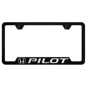 Au-TOMOTIVE GOLD | License Plate Covers and Frames | Honda Pilot | AUGD5875