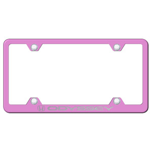 Au-TOMOTIVE GOLD | License Plate Covers and Frames | Honda Odyssey | AUGD5885
