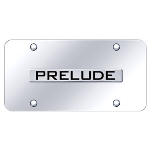 Au-TOMOTIVE GOLD | License Plate Covers and Frames | Honda Prelude | AUGD5898