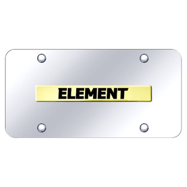 Au-TOMOTIVE GOLD | License Plate Covers and Frames | Honda Element | AUGD5912