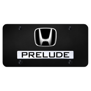 Au-TOMOTIVE GOLD | License Plate Covers and Frames | Honda Prelude | AUGD6000
