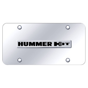 Au-TOMOTIVE GOLD   License Plate Covers and Frames   Hummer H3   AUGD6022