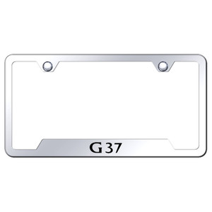 Au-TOMOTIVE GOLD | License Plate Covers and Frames | Infiniti G | AUGD6169