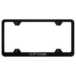 Au-TOMOTIVE GOLD | License Plate Covers and Frames | Infiniti G | AUGD6244