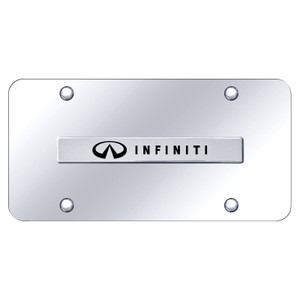 Au-TOMOTIVE GOLD | License Plate Covers and Frames | Infiniti | AUGD6262