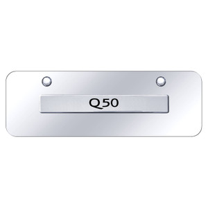 Au-TOMOTIVE GOLD | License Plate Covers and Frames | Infiniti Q | AUGD6272