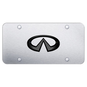 Au-TOMOTIVE GOLD | License Plate Covers and Frames | Infiniti | AUGD6279