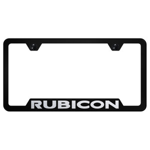 Au-TOMOTIVE GOLD   License Plate Covers and Frames   Jeep Rubicon   AUGD6577