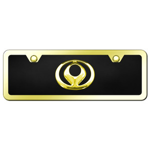 Au-TOMOTIVE GOLD | License Plate Covers and Frames | Mazda | AUGD7153