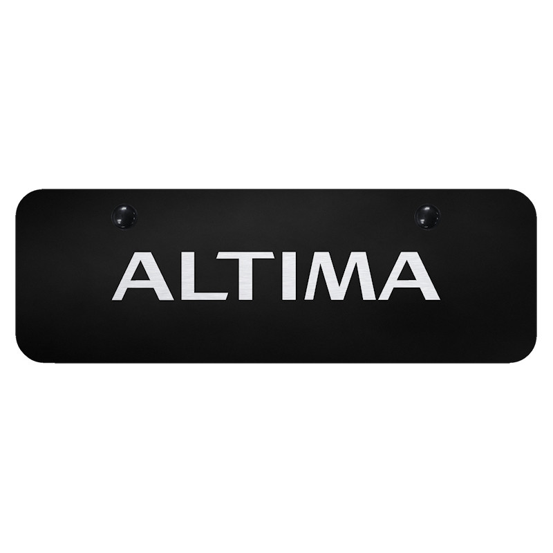 Au-TOMOTIVE GOLD | License Plate Covers and Frames | Nissan Altima ...