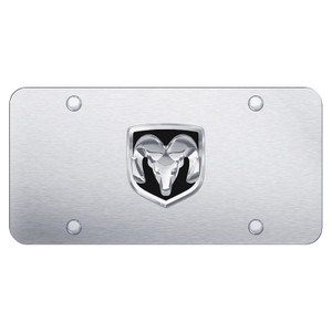 Au-TOMOTIVE GOLD | License Plate Covers and Frames | Dodge RAM | AUGD8282