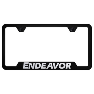 Au-TOMOTIVE GOLD | License Plate Covers and Frames | Mitsubishi Endeavor | AUGD8385