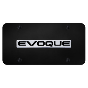 Au-TOMOTIVE GOLD | License Plate Covers and Frames | Land Rover Range Rover Evoque | AUGD8533
