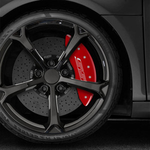 Set of 4 'SS' Caliper Covers for 2010-2015 Chevy Camaro SS by MGP