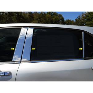Luxury FX | Pillar Post Covers and Trim | 18 Chevrolet Equinox | LUXFX3521