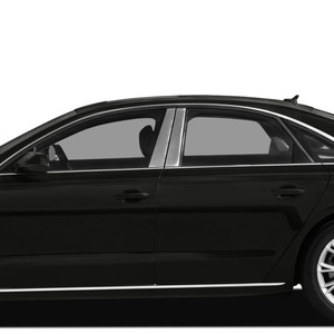 Auto Reflections | Pillar Post Covers and Trim | 12-18 Audi A8 | SRF0090