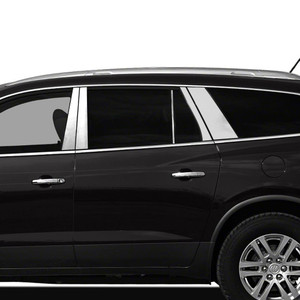 Auto Reflections | Pillar Post Covers and Trim | 07-17 Buick Enclave | SRF0136