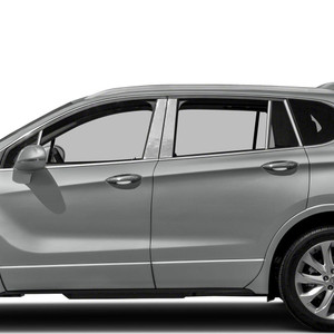 Auto Reflections | Pillar Post Covers and Trim | 17-18 Buick Envision | SRF0145