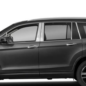 Auto Reflections | Pillar Post Covers and Trim | 16-18 Honda Pilot | SRF0362