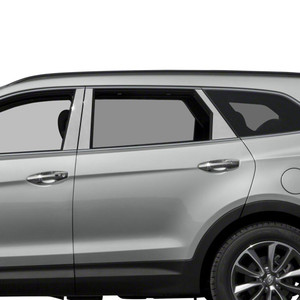 Auto Reflections | Pillar Post Covers and Trim | 13-18 Hyundai Santa Fe | SRF0374