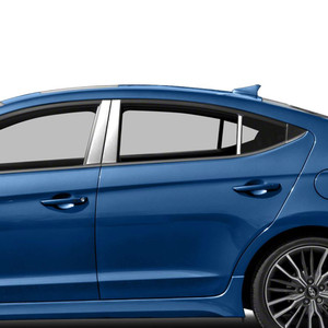 Auto Reflections | Pillar Post Covers and Trim | 17-18 Hyundai Elantra | SRF0399