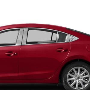 Auto Reflections | Pillar Post Covers and Trim | 14-18 Mazda 6 | SRF0530
