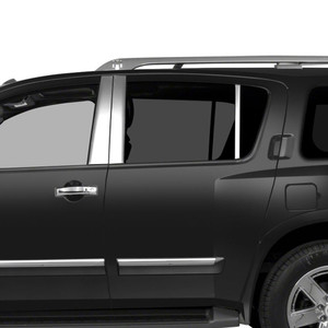 Auto Reflections | Pillar Post Covers and Trim | 05-15 Nissan Armada | SRF0582
