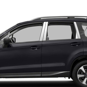 Auto Reflections | Pillar Post Covers and Trim | 13-18 Subaru Forester | SRF0626