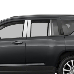 Auto Reflections | Pillar Post Covers and Trim | 07-18 Jeep Compass | SRF0244