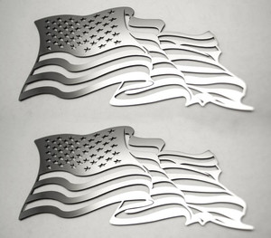 American Car Craft |Emblems | American Flag |ACC4457