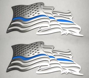 American Car Craft |Emblems | American Flag |ACC4458