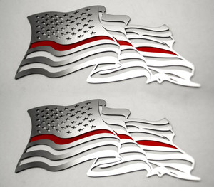 American Car Craft |Emblems | American Flag |ACC4459