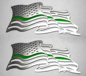 American Car Craft |Emblems | American Flag |ACC4460