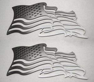 American Car Craft |Emblems | American Flag |ACC4461
