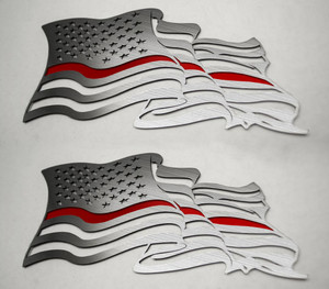 American Car Craft |Emblems | American Flag |ACC4463