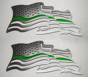 American Car Craft |Emblems | American Flag |ACC4464