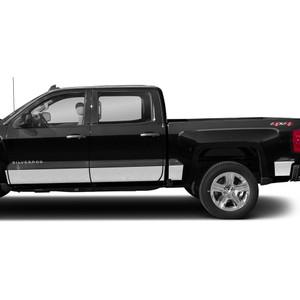 Diamond Grade | Side Molding and Rocker Panels | 14-18 Chevrolet Silverado 1500 | SRF0832