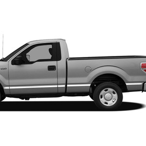 Diamond Grade | Side Molding and Rocker Panels | 09-14 Ford F-150 | SRF0011